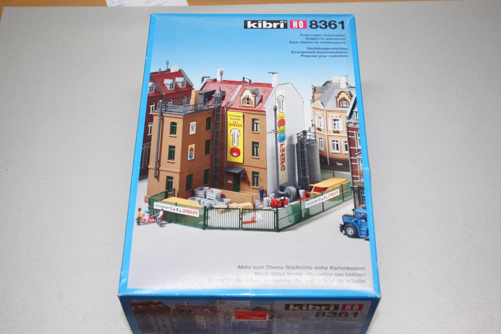 "Kibri 8361 Bausatz Schraubenfabrik ""Dreher"" Spur H0 OVP"