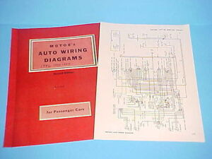 details about 1947 1948 1949 1950 1951 1952 1953 1954 kaiser deluxe manhattan wiring diagrams wiring diagram 1951 plymouth concord