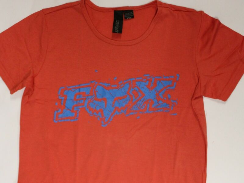 Fox Racing Switch Youth Tee Red Size Large (12) Brand New Free Postage