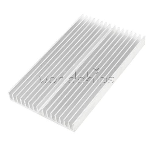 Heat sink 100*60*10MM IC Heat sink Aluminum 100X60X10MM Cooling Fin New