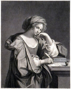 SIBILLA-PERSICA-SUO-NOMINE-SAMBETHE-DICTA-1780-Pietro-Fontana-Guercino-ETCHING