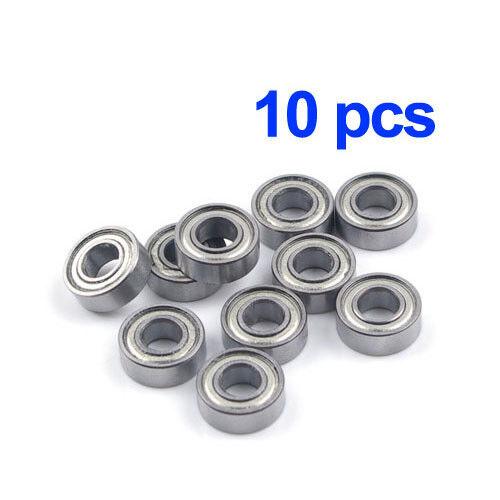 10pcs MR115ZZ 5x11x4mm Metal Shield Ball Bearing Steel Metric Hop-Up Heli Part
