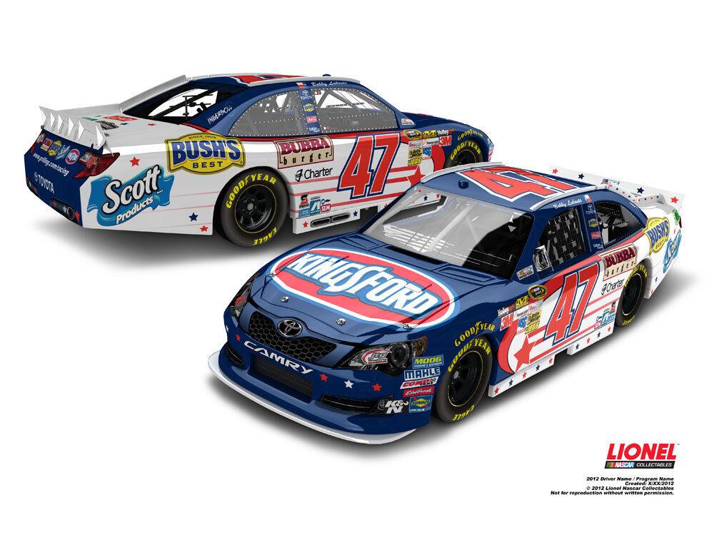 1 24 BOBBY LABONTE 2012 KINGSFORD NASCAR UNITES CHROME LIMITED EDITION OF 72