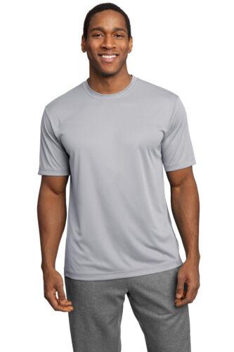 NEW Men/'s SPORT TEK Dri-Fit T-Shirt Polyester Tee Running Workout S-3XL L XL 2XL