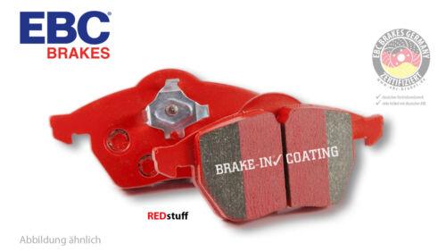 EBC Redstuff Bremsbeläge für Seat Skoda hinten DP31230C VW