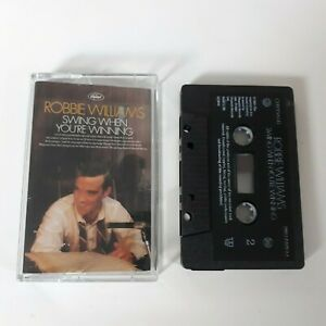 ROBBIE-WILLIAMS-SWING-WHEN-YOU-039-RE-WINNING-CASSETTE-TAPE-CHRYSALIS-UK-2001