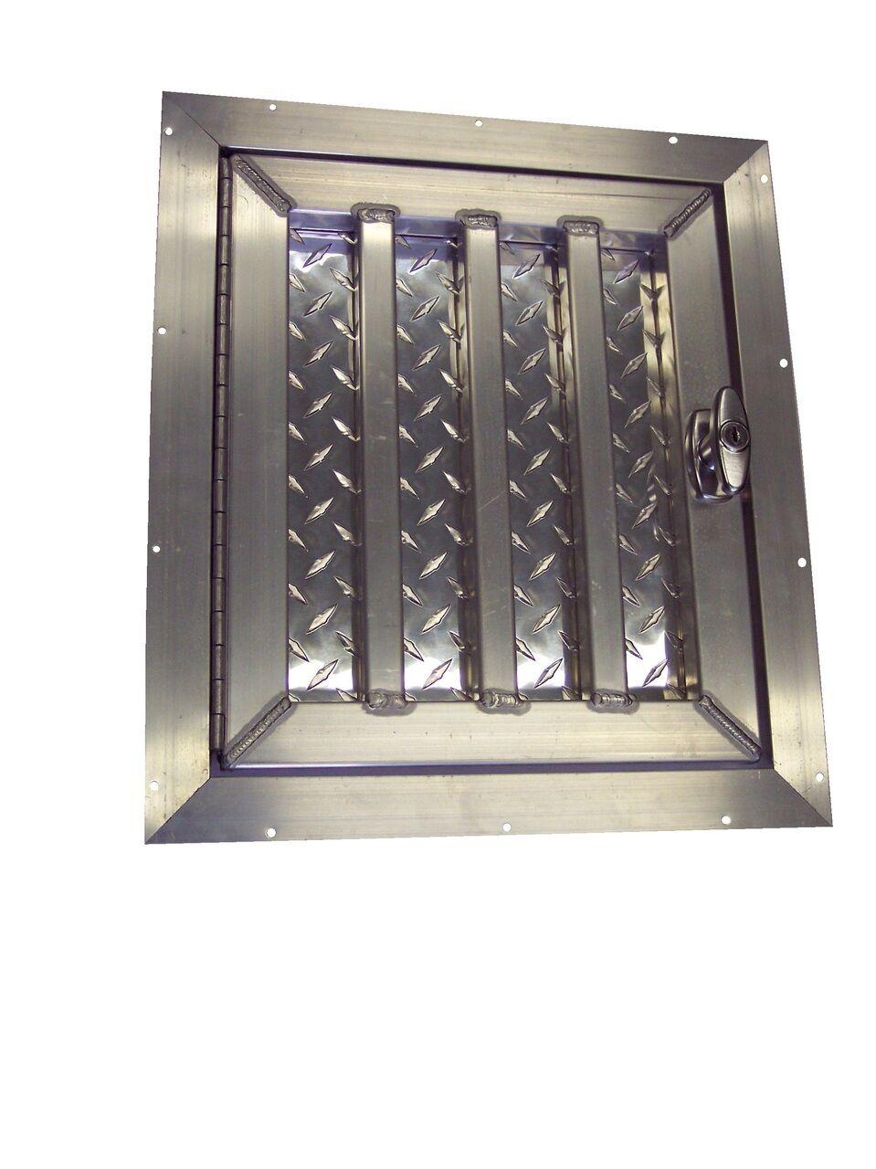 Short Aluminum Dog Box Crate Kennel Door