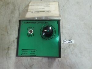 Automation-Devices-Feeder-Control-Mod-4150E-120-VAC-New