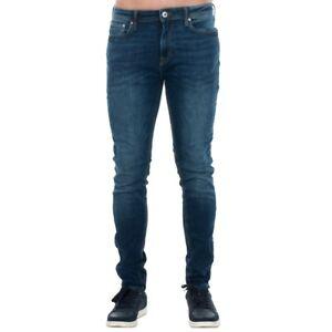 Jack-amp-Jones-Hombre-Jeans-pantalon-low-high-waist-Azul-14489