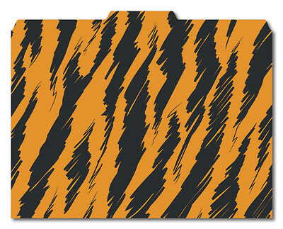 File-/'N Style Folders Cool School Studios - Set of 12 Chevron Print