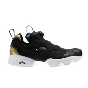 reputable site f5b23 ae71d Image is loading New-Womens-Reebok-INSTAPUMP-FURY-Cut-Out-BLACK-