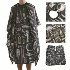 2pc Hair Cutting Cape Pro Salon Hairdressing Hairdresser Gown Barber Cloth Apron