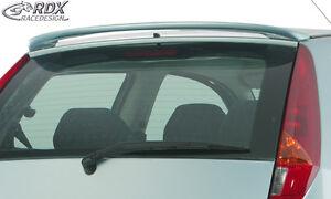 RDX-Dachspoiler-FIAT-Punto-Typ-188-Heckspoiler-Heck-Fluegel-Dachkanten-Spoiler