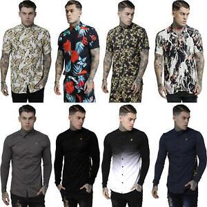 Sik-camisas-de-seda-amp-Prendas-para-el-torso-Surtidos-se-adapta-estilos