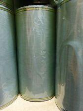 1Rollen Moiré Kranzschleifenband  Kranzband 175 mm mistelgrün