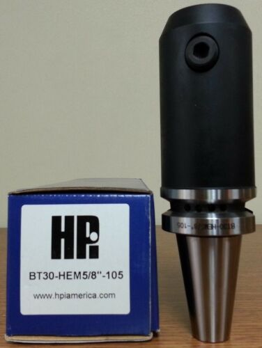 "HPI Pioneer BT30 5//8 0.6250/"" End Mill Holder 4.13/"" Coolant Thru **NEW**"