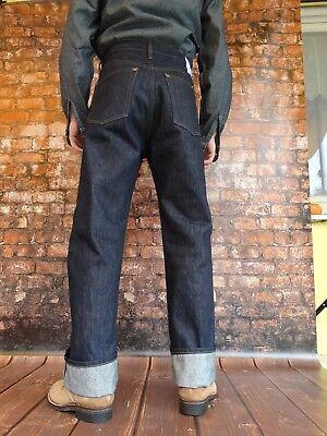 Quartiermastro Denim Jeans Anni 30 Stile No-chinch Rockabilly Us Army Vintage Da I Cataloghi Saranno Inviati Su Richiesta