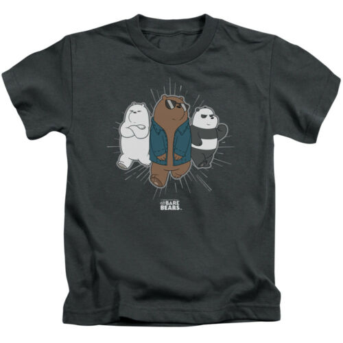 We Bare Bears TV Show JACKET Licensed T-Shirt KIDS Sizes 4 5//6 7