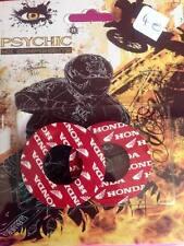 grips donuts de protection pouce poignées moto cross enduro HONDA psychic