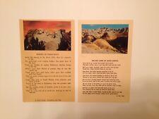 Vintage, Old, Rare, Authentic, Original Post Cards of Bad Lands in South Dakota