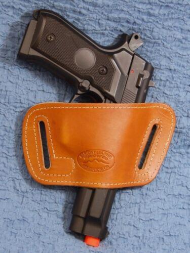 Saddle Tan Leather Slide Holster STAR M40 M45 FIRESTAR