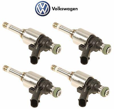Set Of 4 Fuel Injectors 06H906036G For Audi A4 A3 Q3 Q5 TT VW Jetta Tiguan