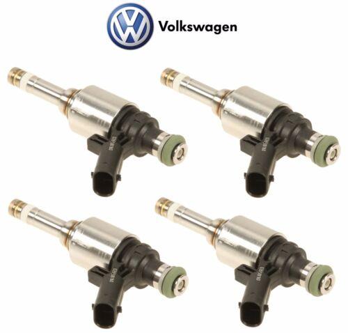 For Audi A4 A3 Q5 TT VW Jetta Tiguan 2.0L L4 4x Fuel Injector Genuine 06H906036P