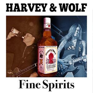 HARVEY-amp-WOLF-FINE-SPIRITS-CD-Cycle-Sluts-From-Hell-Headcat-NEW