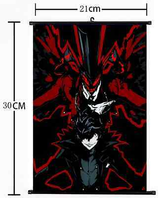 Hot Japan Anime P4G Persona 5 The Golden Wall Scroll Poster cosplay 1748