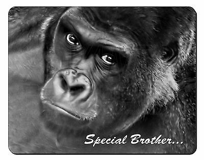 'special Brother' Gorilla Computer Mouse Mat Christmas Gift Idea, Am-6bro1m Originale Al 100%