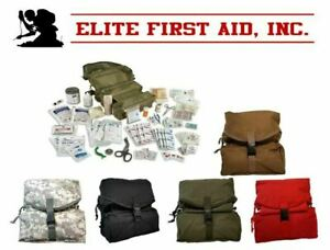 M-3 Fully Stocked Tri-Fold Medic Bag Kit by Elite First Aid FA108