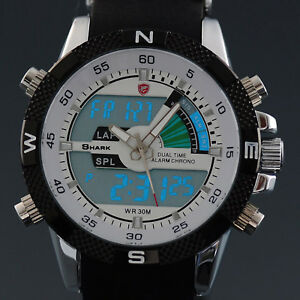 SHARK-Mens-Digital-LCD-Army-Date-Day-Quartz-Sport-Rubber-Military-Sport-Watch