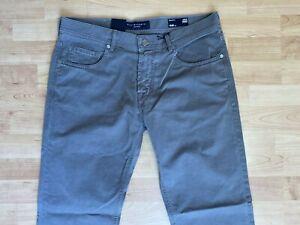 Baldessarini-Herren-Jeans-Hose-Straight-Leg-Jeans-Jack-W34-L32-Braun-NEU