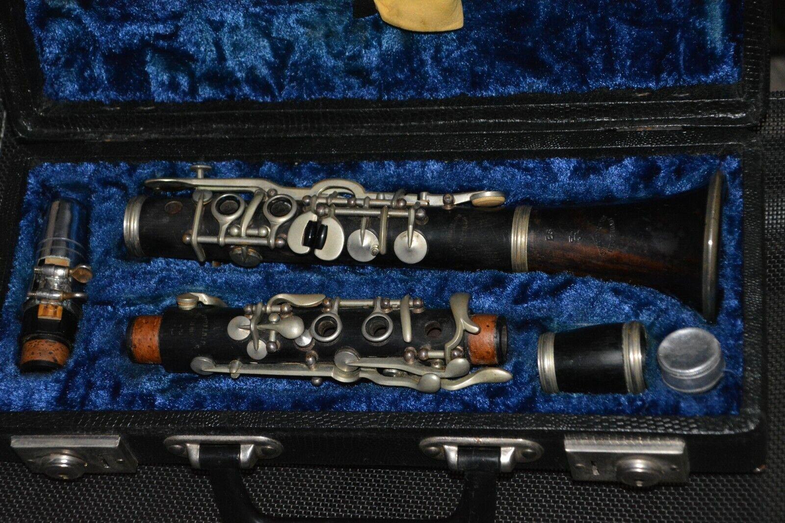 Klarinette Clarinet mit Koffer von Johann Kern Stuttgart Made in Germany