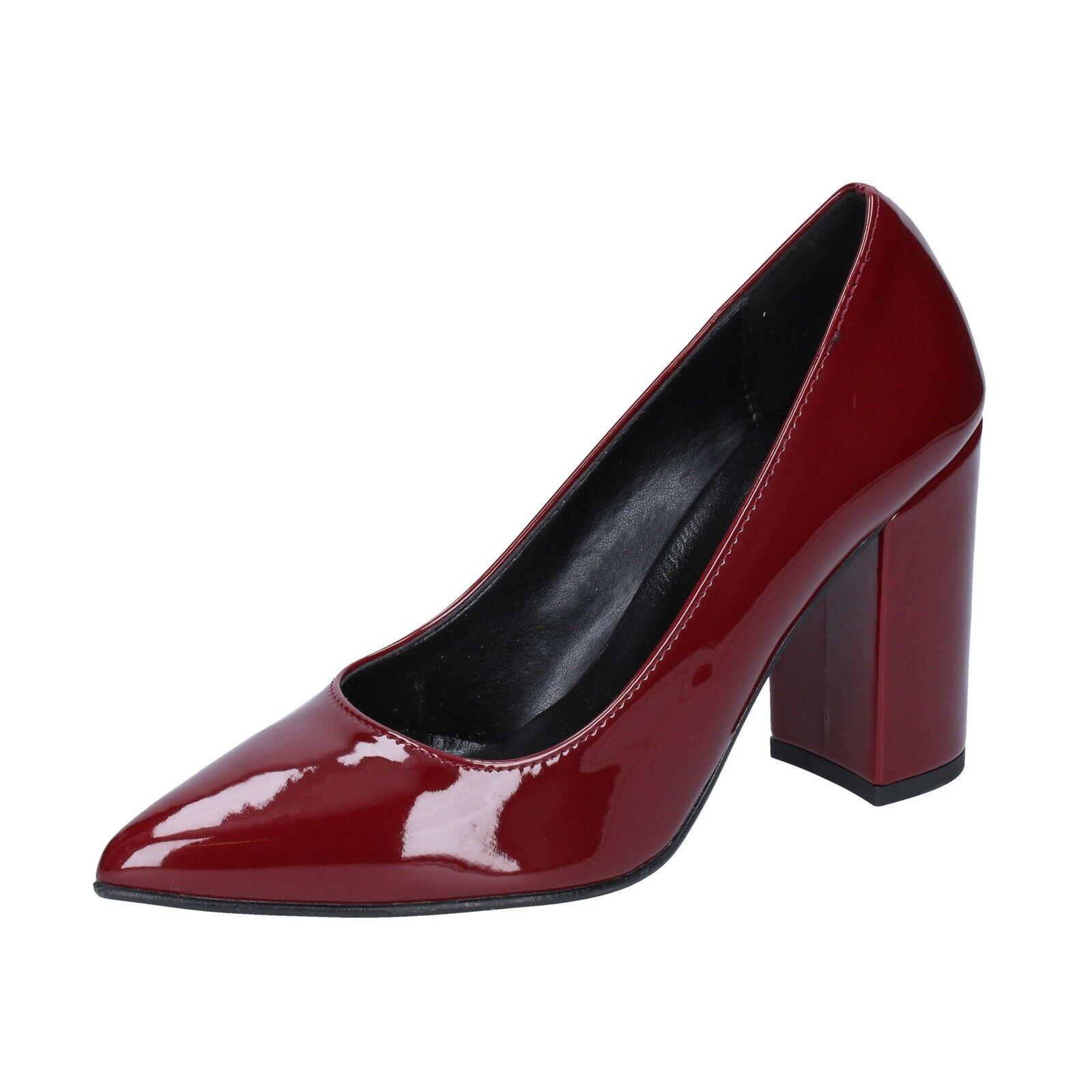 Chaussures femmes Olga Rubini 3 (UE 36) tribunaux Bordeaux Cuir verni BS866-36