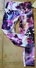 LULULEMON High Times Pant 7/8 SQOI Blooming Pixie Limited Edition 10 NWT