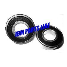 "Go-Kart Bearings 99502H 1-3/8"" OD 5/8"" ID, No Clip Wheel Hubs, Set of 2"