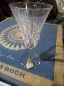 Lot-verre-a-pied-en-cristal-VB-Villeroy-Boch-serie-CONCORDE-avec-boite-d-039-epoque