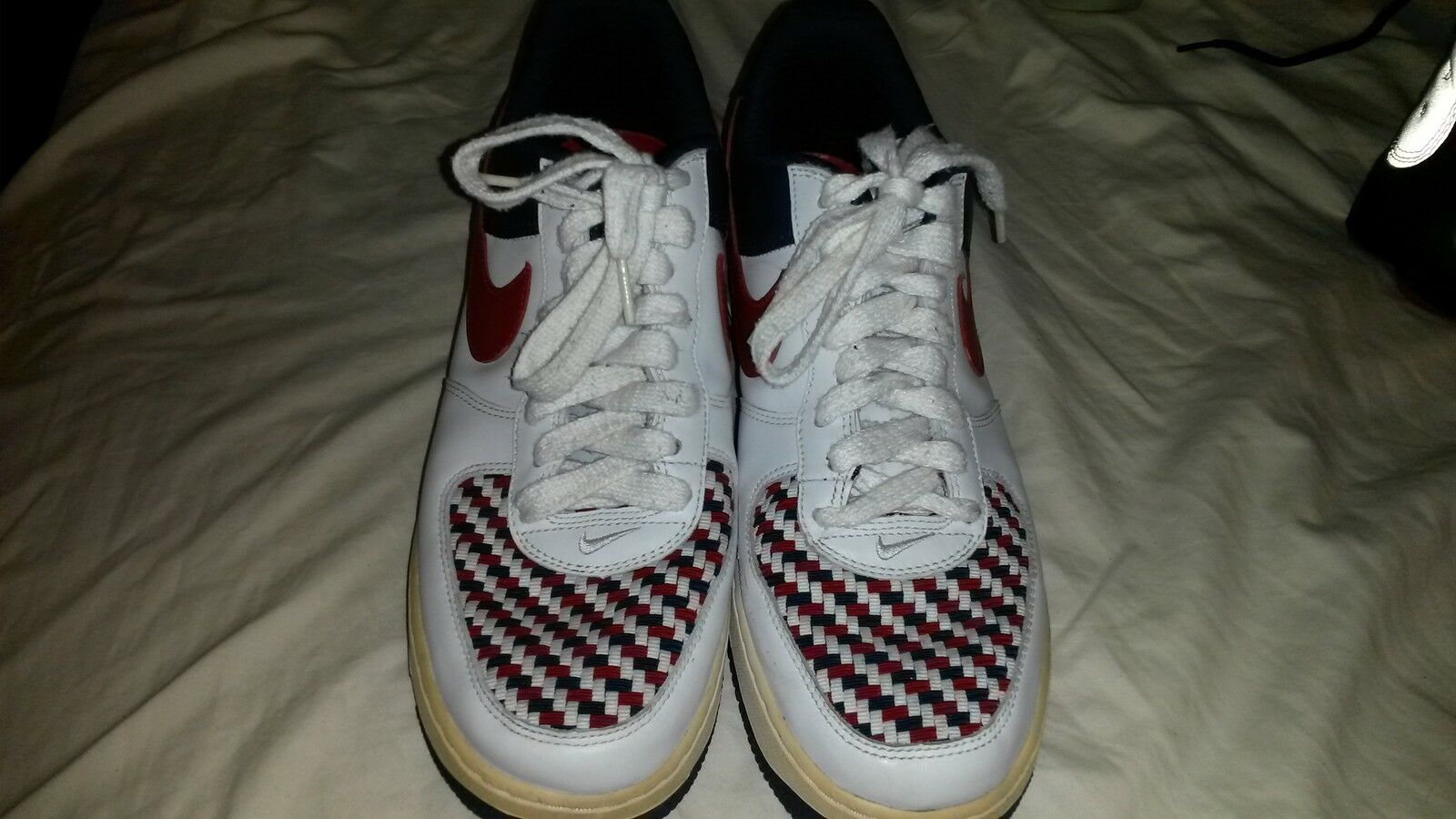 2005 Nike Air Force 1 Low Premium Armed Forces Limited Edition Shoes Size 10