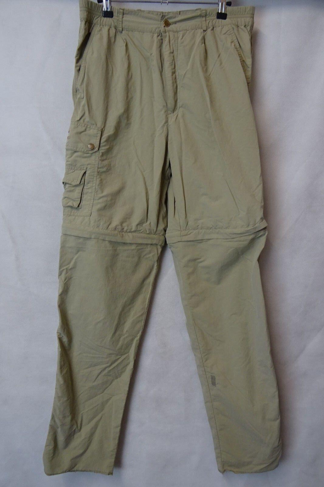 Uomo Fjallraven Outdoor Pantaloni Trekking Combat Taglia W34 L33 AA2547