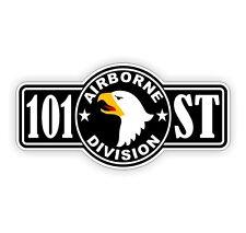 101st Airborne Hard Hat / Helmet Decal Sticker Label WW2 Vietnam Paratrooper 101