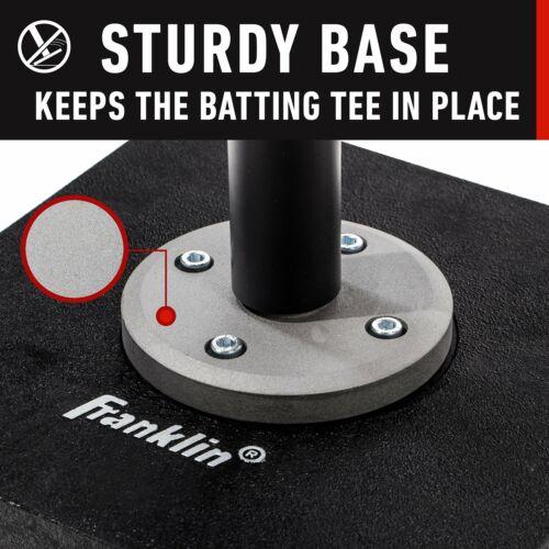 Portable Baseball Batting Tee Ball Pro-Grade Softball Training Hitting Aid Stand