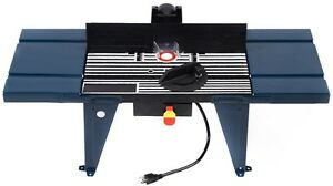Electric Aluminum Router Table Wood Working Craftsman Tool