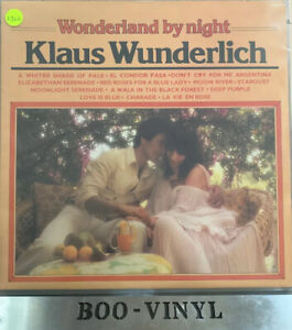 7-X-KLAUS-WUNDERLICH-JOBLOT-VINYL-LP-RECORDS-ALL-IN-VG-Or-Better-See-Pics