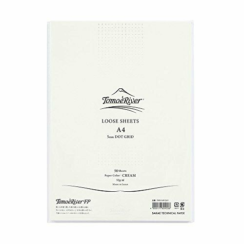 Sakae Technical Paper Tomoe Fluss Fp Lose Blatt TMR-A4P-D5Y Creme Japan 191057