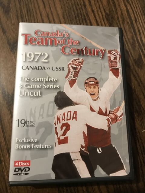 Canada's Team of the century 1972 Canada vs USSR (4 dvd) complete 8 game uncut