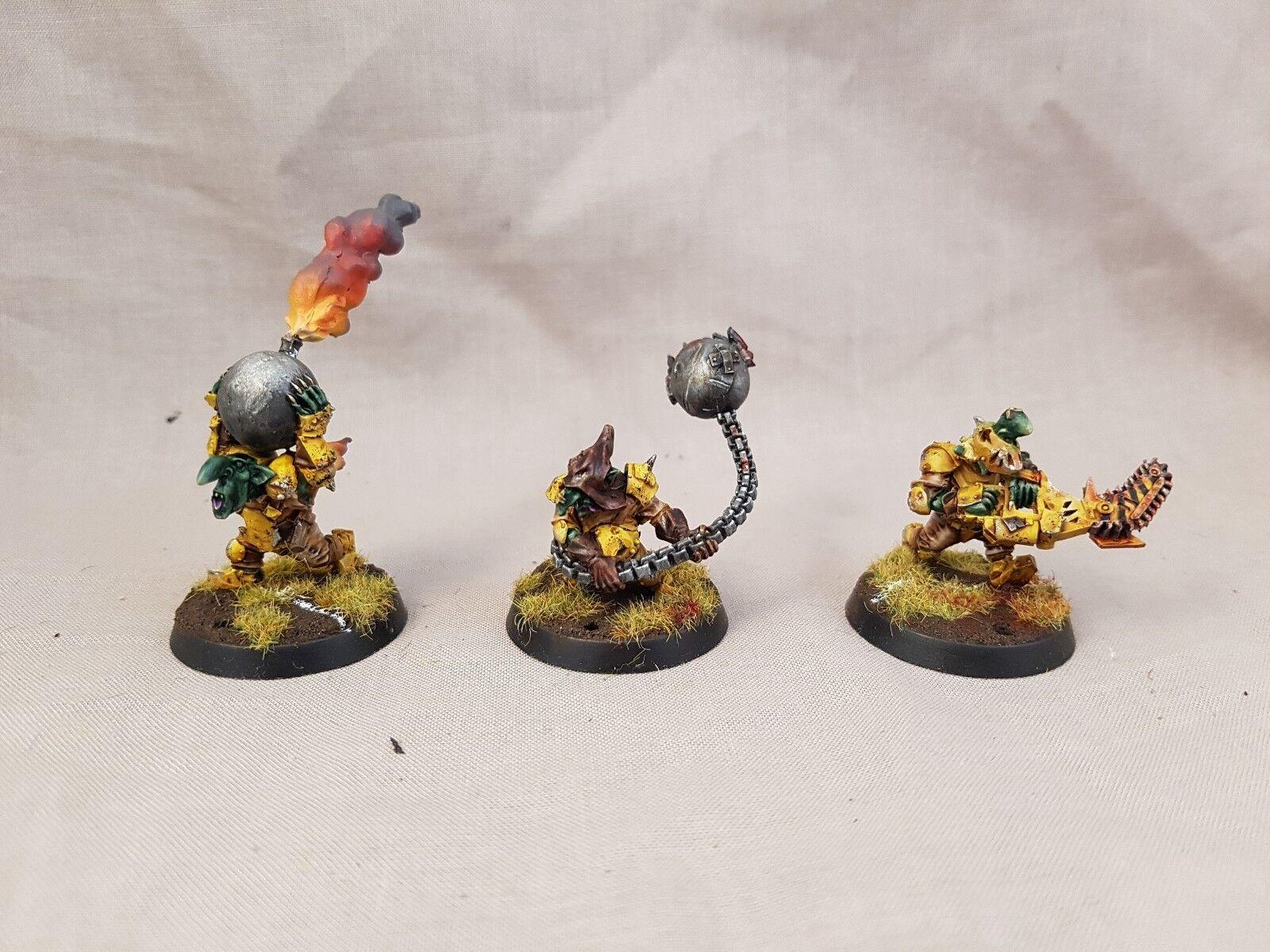 Forgeworld Blood Bowl Goblin secreto armas