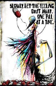 Depression Anxiety Mental Health Original Art Artwork Poster Print 11x17 Inch Ebay