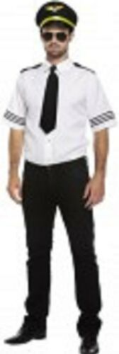 Men/'s Adult airline Pilot made by Henbrandt fancy dress outfit New
