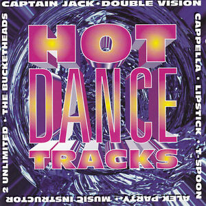 Compilation-CD-Hot-Dance-Tracks-The-Best-Dance-Hits-Holland